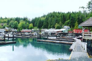casette colorate di Telegraph Cove