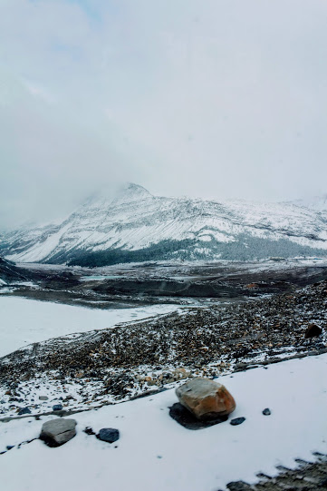 Columbia Icefield -parchi Alberta