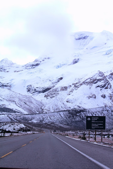 Columbia Icefield - parchi Alberta