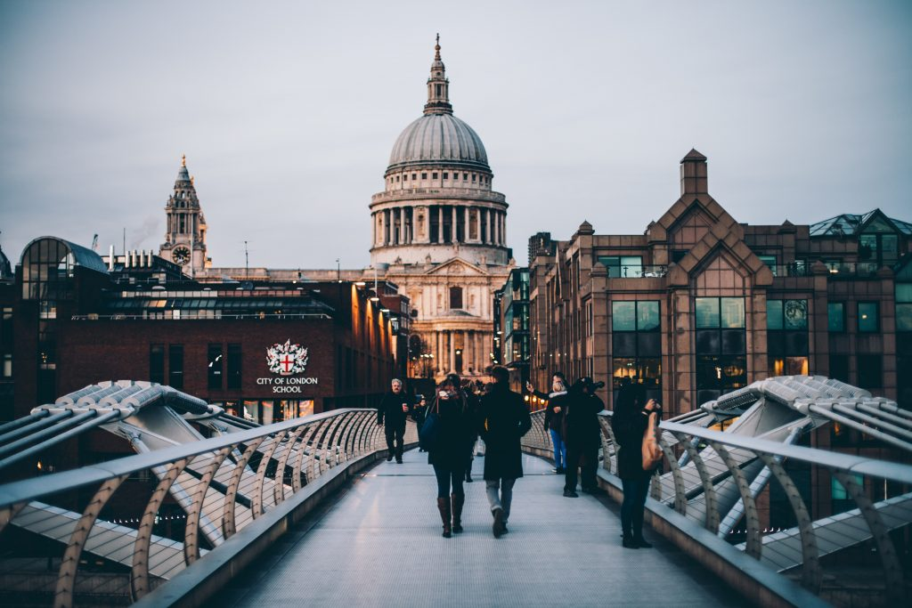 St. Paul Cathedral in London